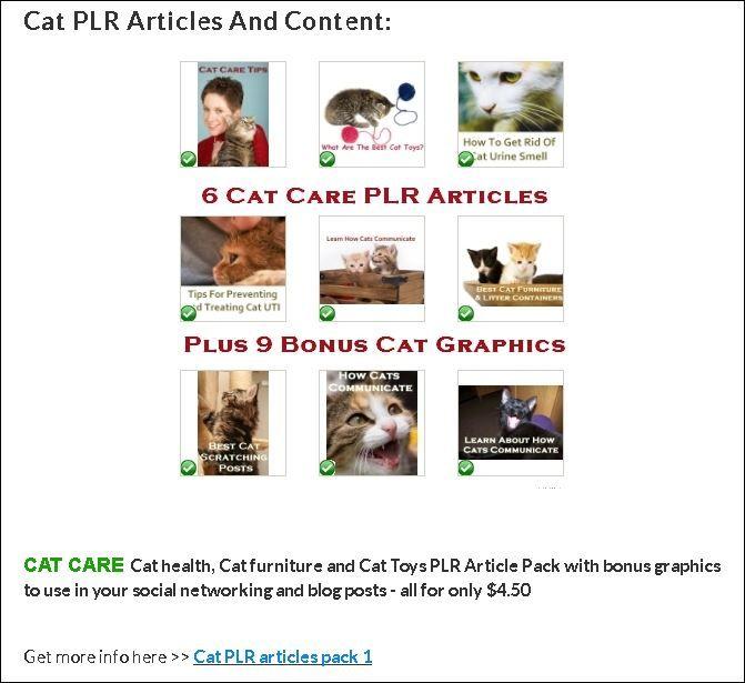 Pre-written cat articles - licensed pet blog content! Cat PLR Articles and Content Packs - private label rights Pet niche content STORE https://shar.es/1T2QSX #PLR #CatArticle #Cats #CatBlog RT