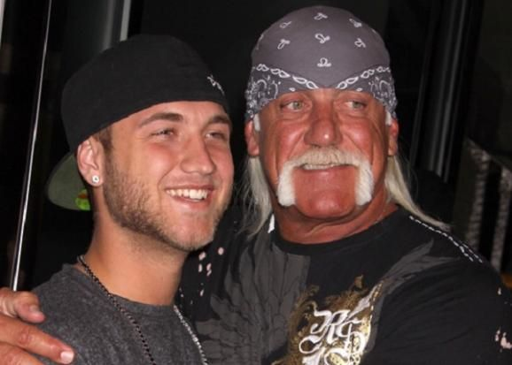 Nick Hogan, Hulk Hogan
