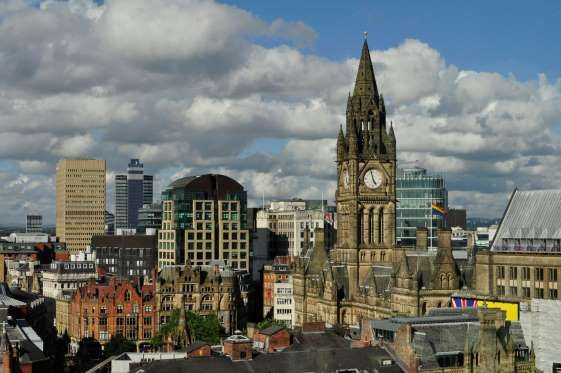 Manchester na Inglaterra.