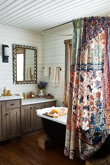 Risa Shower Curtain - 【アンソロポロジー/ANTHROPOLOGIE専門店】 アンジのお部屋