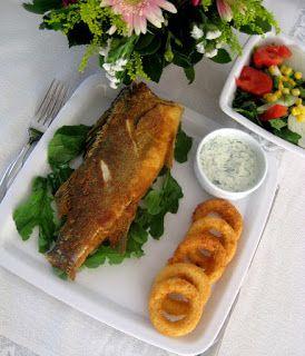 Levrek Ve Kalamar Kızartma - En iyi Balık Yemekleri tarifi