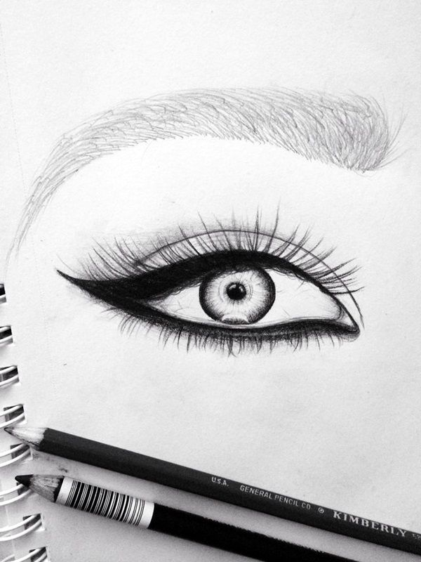 How To Draw An EYE 40 Amazing Tutorials And Examples Draw