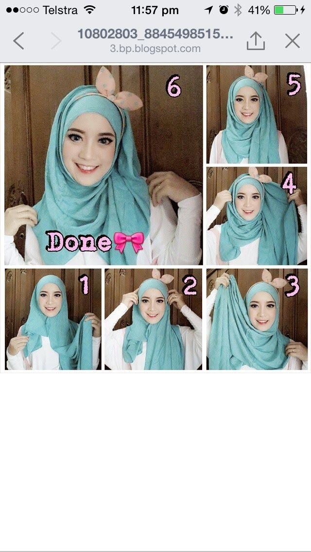 Bunny hijab