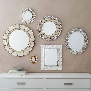 These Peruvian Artisan Mirrors were handcrafted in Peru using a centuries-old technique once used to carve religious sculptures.