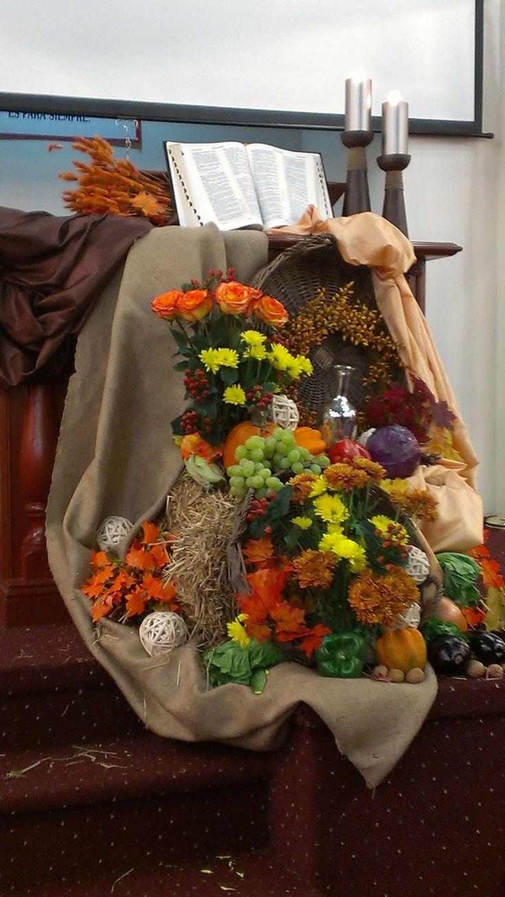 Thanksgiving Decoration Ideas Pinterest New Church Thanks