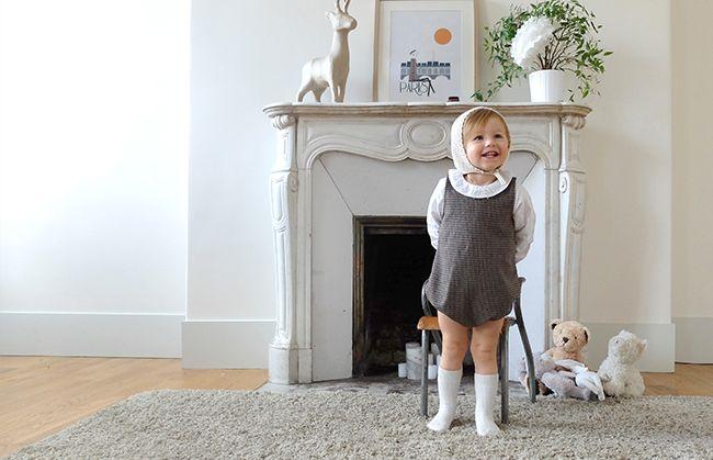 En culotte courte chez French Mômes, le joli made in France pour les enfants