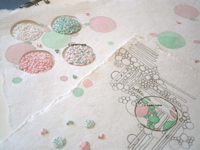Best ideas about paper embroidery tutorial on