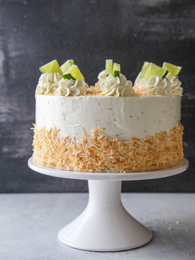 Excellent Coconut Lime Cake Recipe Lime Cake Recipe Lime Cake Coconut Funny Birthday Cards Online Alyptdamsfinfo