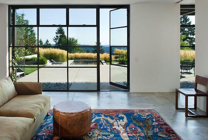Steel Windows and Doors, Gardenista; from Torrance Steel Window Co. based in Torrance CA (sunroom door replacement?)