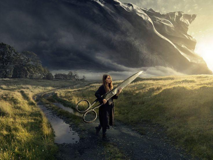 Surrealistische fotografie van Erik Johansson