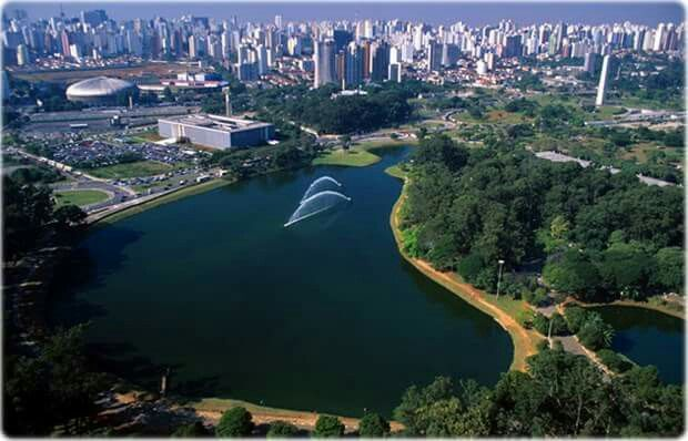 Parque do Ibirapuera, Sp, Brazil