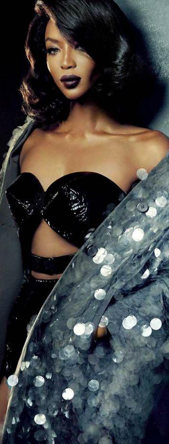 Naomi Campbell Vogue Portugal 2016