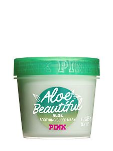 NEW! Aloe Beautiful Soothing Sleep Face and Body Mask
