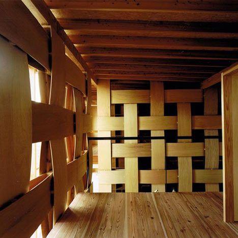 Wood Block House (by Tadashi Yoshimura Architects)