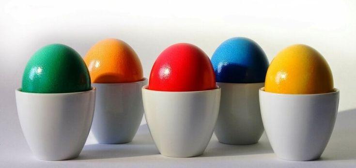 uova decorate come lavoretti di Pasqua da fare con i nostri bambini