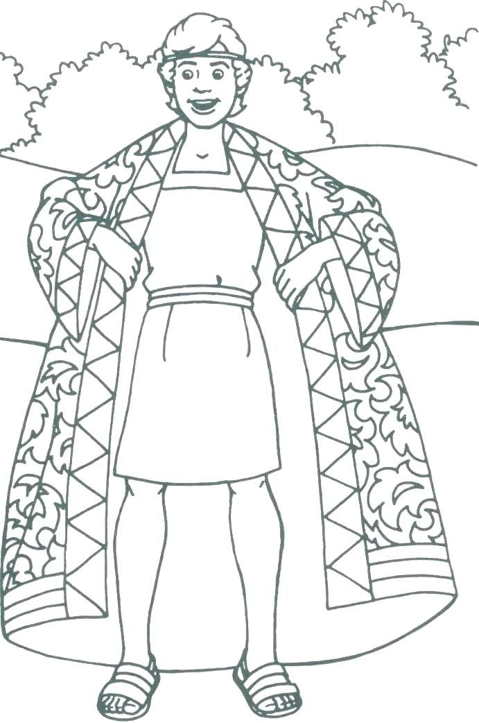 Sold Into Slavery Coloring Pages Sunday School Coloring