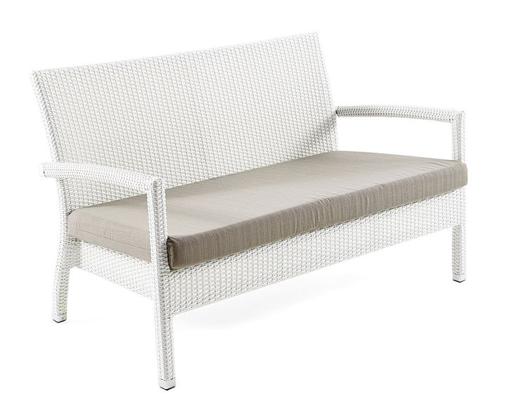 Outdoor Stackable Lotus Bench; Available In Synthetic Fiber Of Various  Colors And Paint Treated Aluminum, Suitable To Decorate Gardens, Terraces,  ...