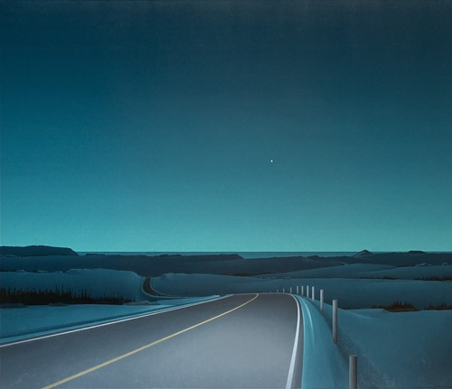 Driving To Venus: A Long and Winding Road - Christopher Pratt