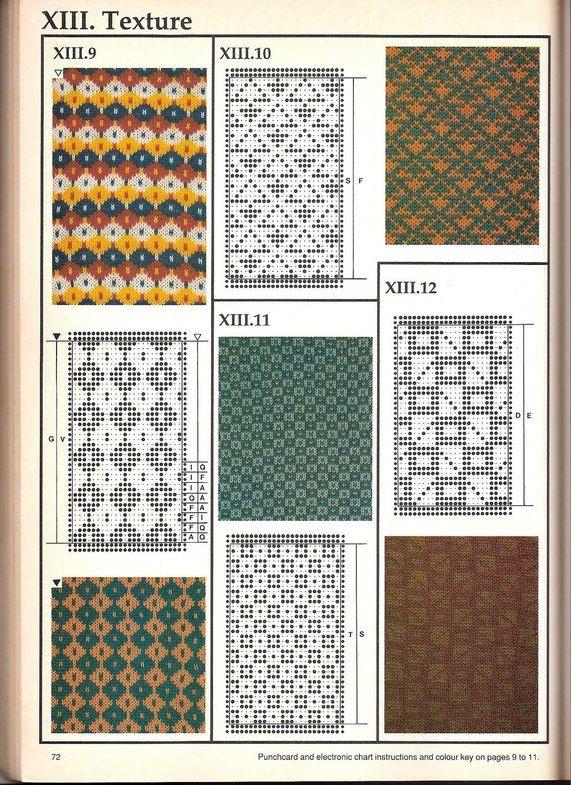 Машинное вязание - жаккард Машинное вязание - жаккард #71