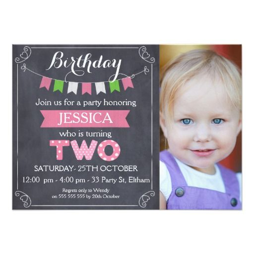 419 best 2nd Birthday Party Invitations images – 2nd Birthday Party Invitations