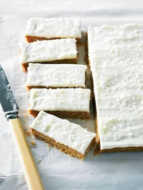 Merle's Slice : Country Women's Association cake champion Merle Parrish shares her very own slice recipe, using coconut, brown sugar and a hint of vanilla.
