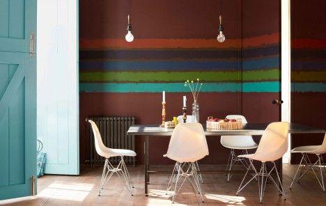 23 best Wand-Ideen images on Pinterest Wall ideas, Brushes and - Die Elegante Ausstrahlung Vom Modernen Esszimmer Design