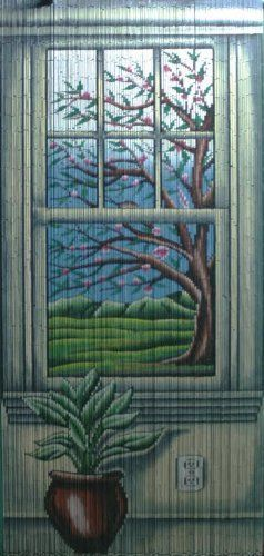 Window View Beaded Curtain 125 Strands (+hanging hardware) ABeadedCurtain http://www.amazon.com/dp/B00FBRVY6Q/ref=cm_sw_r_pi_dp_fNbYub012P48E