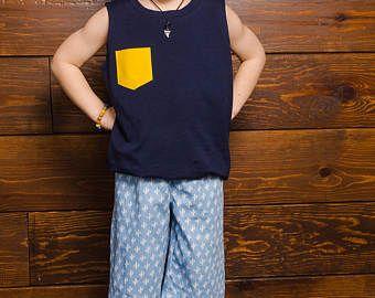 Vêtements pour enfants Kids Clothing 0-8 par CreationsPoissonChat