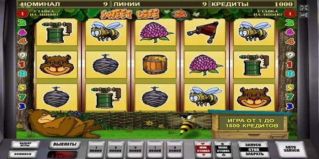 Игровые автоматы медведь и пчела
