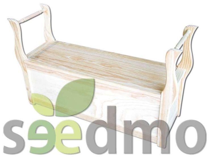 #Muebles y #decoración MARQUESITA CON BAUL por tan solo 78,30 euros compra Online.