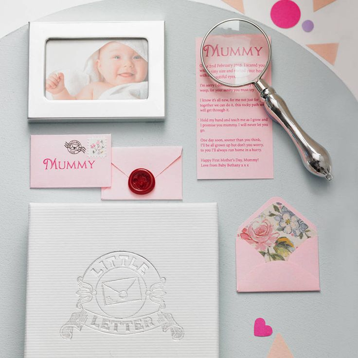 personalised mother's day gift and keepsake by little letter   notonthehighstreet.com