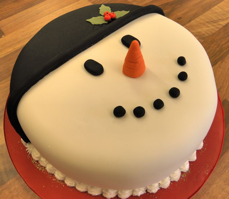 1000 images about christmas cakes on pinterest new year for Decoration ideas for christmas cake