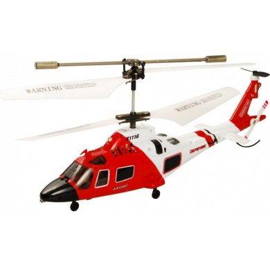 Już u nas !!! Zdalnie Sterowany Helikopter Syma S111G 3-kanałowy minihelikopter z wbudowanym żyroskopem, co znacznie jak wiadomo ułatwia latanie. Kontrolujemy go w kierunkach: góra/dół, do przodu/do tyłu, obrót w lewo/prawo. Chcesz wiedzieć więcej? Zobacz opis, dane techniczne, komentarze oraz film Video. Nie ma jeszcze komentarzy, to czemu nie zostawisz swojego:) #modelrc #helikopter #model #rc #syma #s111g