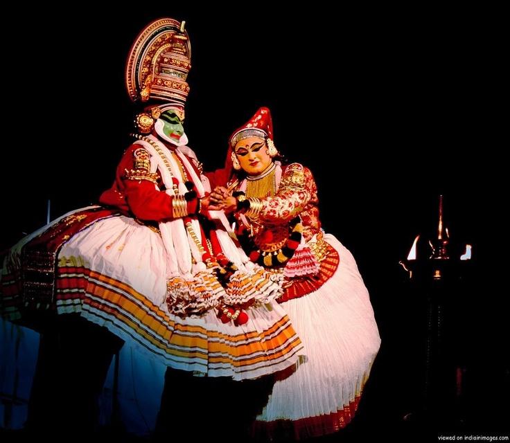Kathakali Dance - Drama (Kerala, India). http://helloasia.travel