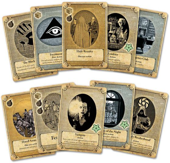 a study in emerald cards - Google Search
