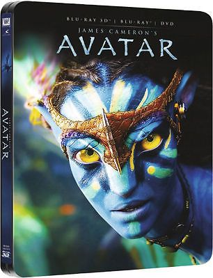 #Avatar 3d #blu-ray & dvd steelbook uk zavvi 2 disc set new #sealed fast post,  View more on the LINK: 	http://www.zeppy.io/product/gb/2/292000616056/