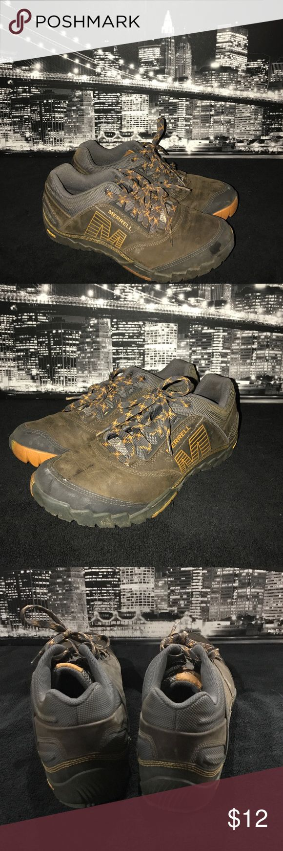 Super snazzy Merrill shoes 12 us 11.5 U.K. Have a night out on the town with these amazing shoes. Have fun and enjoy. Merrell Shoes Sneakers