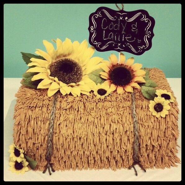 Hay Bales Wedding Cake