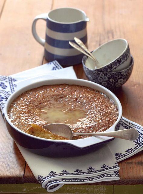 Malva pudding - no one should allow winter to pass without making this traditional favourite at least once.