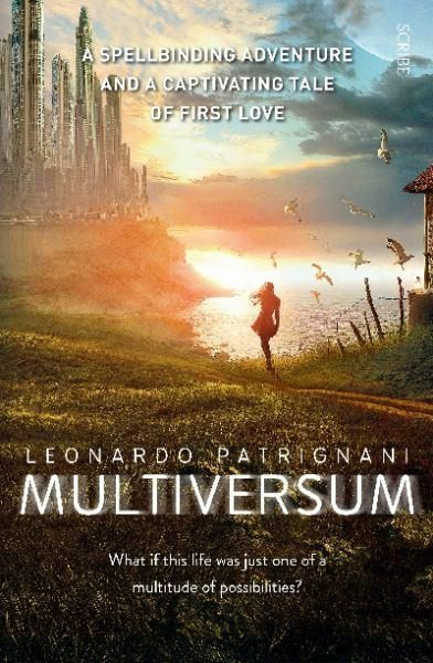 """""""Multiversum"""", by Leonardo Patrignani ; translated from Italian by Antony Shugaar - Alex lives in Milan; Jenny, in Melbourne. For the past four years, they have glimpsed each other at random moments, while they are both unconscious - a telepathic communication that occurs without warning. During one of these episodes, they manage to arrange a meeting. But on the day, though they are standing in the same place at the same time, each of them cannot see the other."""