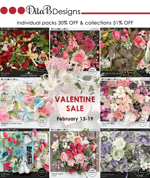 DitaB Designs:    VALENTINE SALE selected love and Valentine prod...