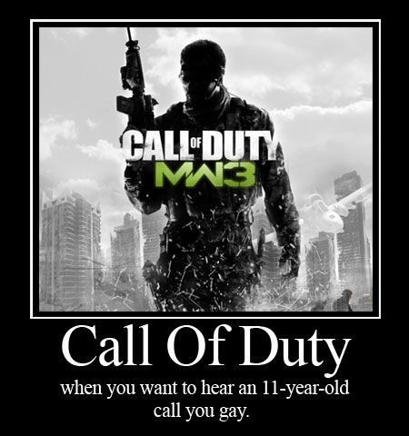 This is why I hate Call of Duty