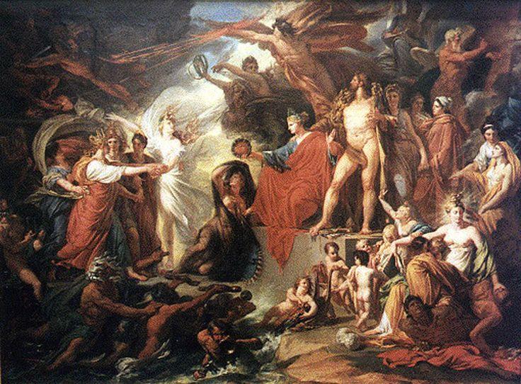 Σύμφωνα με τον Γερμανό φιλόλογο και γλωσσολόγο George Curtius (1820-1885), η λέξη Όλυμπος προέρχεται από τη ρίζα -λαμπ- Έτσι, οι Ολύμπιοι θεοί είναι