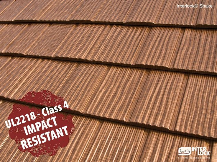 Attractive Interlock Metal Roofs Are Tested And Approved, Meeting The UL 2218