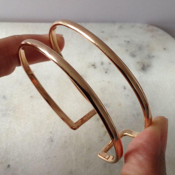 Rose Gold wire Cuff