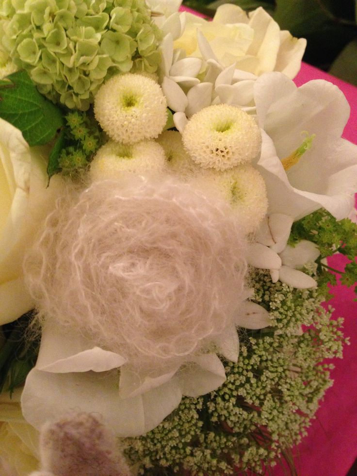 Selfmade flower for my wedding