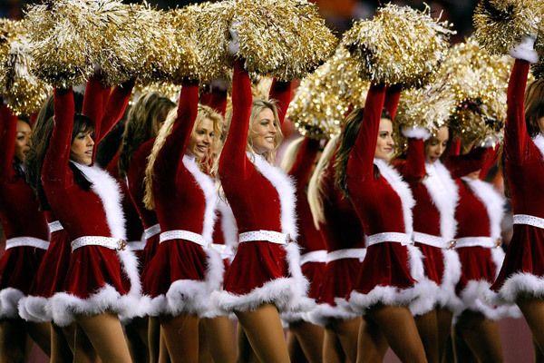 Redskin Cheerleaders #Cheerleader #cheer #cheerleading