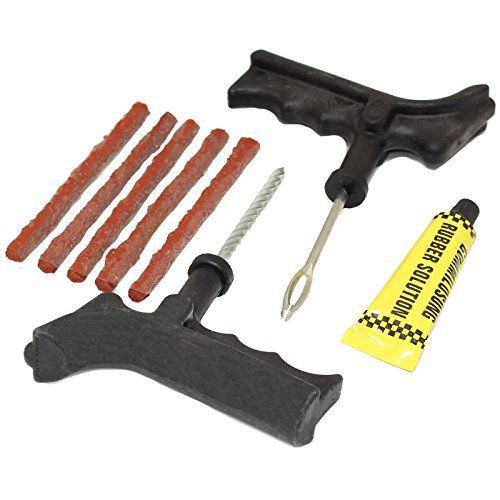 Hardcastle Kit de Réparation de Crevaison pour Pneus Sans Chambre a Air de Voiture/Moto & 5 Bandes de Réparation: Hardcastle Kit de…