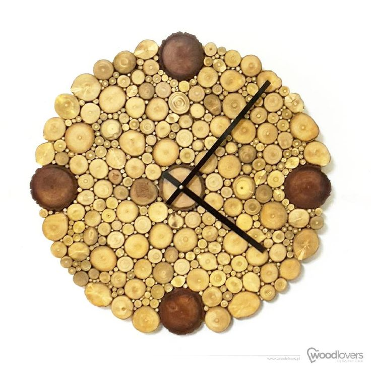 "Polubienia: 28, komentarze: 1 – Szymon Gacki (@woodlovers.pl) na Instagramie: ""Another custom order. Clock from LITTLE series but with some colors added and in 50cm (19.7'')…"""