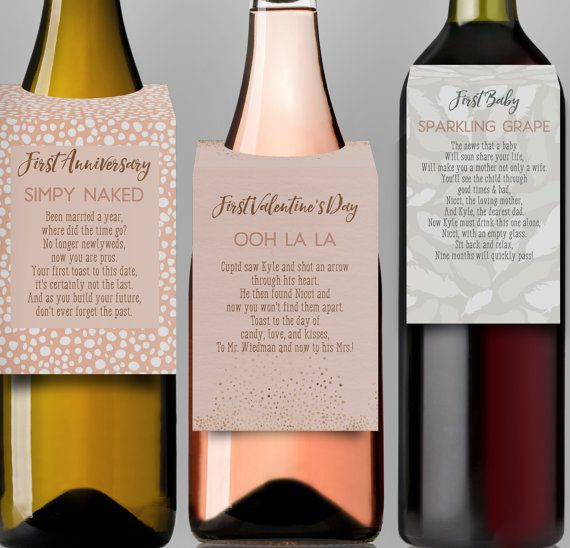 334 Best Wine Bottle Labels Images On Pinterest Gift Ideas, La   Free Wine  Label ...  Free Wine Bottle Label Templates